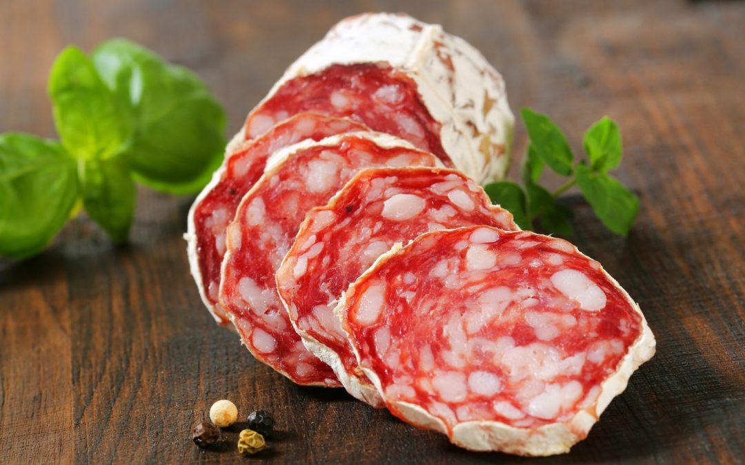 Vente de saucissons d'Auvergne